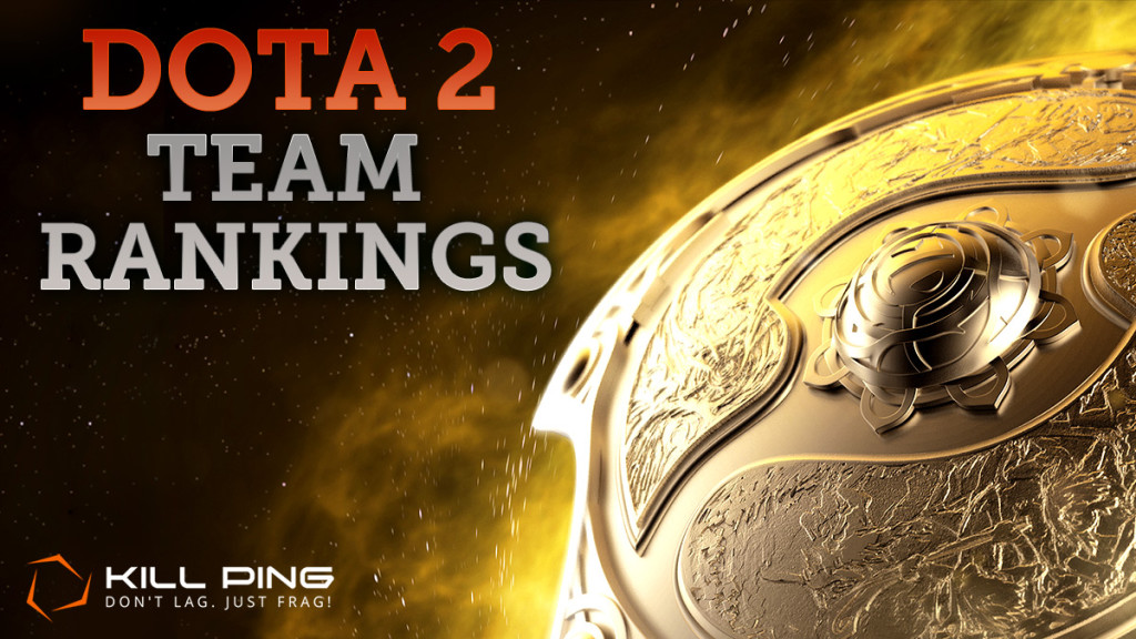 dota 2 team rankings for ti5 are here kill ping