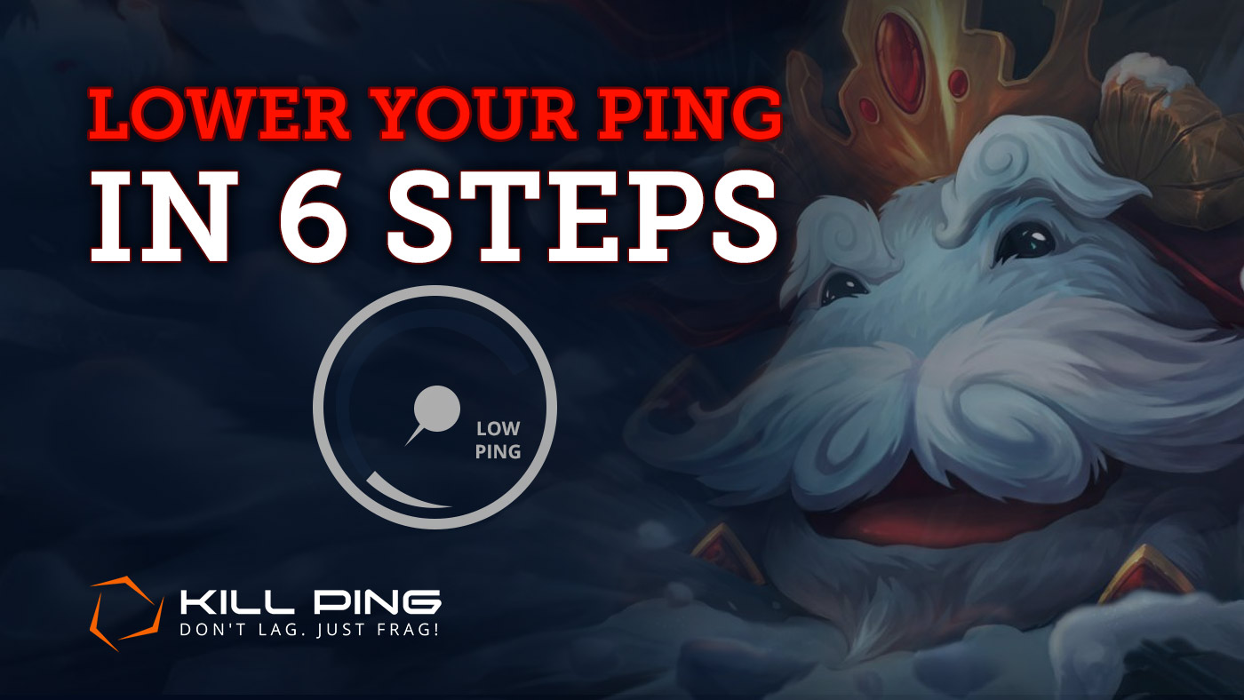 How to lower ping in games