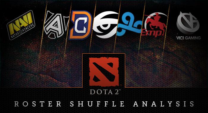 dota 2 roster shuffle analysis kill ping