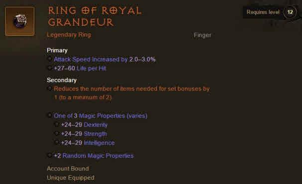 diablo 3 ring of royal grandeur how to get