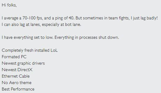 Fix League of Legends Lag With Good Fps and Ping With This Guide