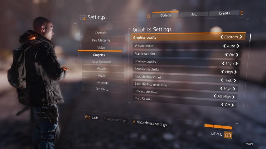 Division 2 Random Crashes