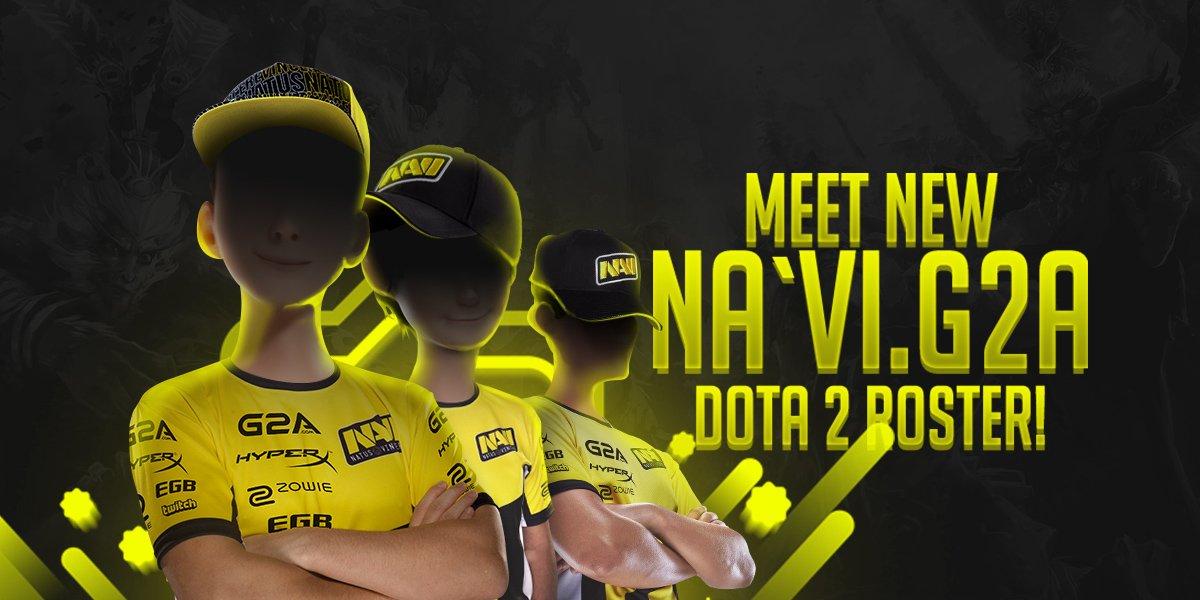 Na`Vi announce new Dota 2 Roster - Kill Ping
