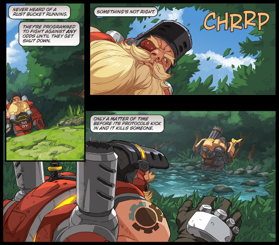 Image of: Blizzard Blizzard Releases New Overwatch Comic Binary Kill Ping Blizzard Releases New Overwatch Comic Binary Kill Ping