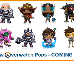 New Wave Of Overwatch Funko Pops Arriving In May