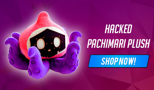 sombra hacked pachimari plush toy